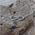 Evermore Necklace - Sterling Silver THUMBNAIL