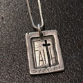 Faith is Greater than Fear Necklace THUMBNAIL