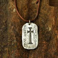 Fear Not Sterling Silver Necklace