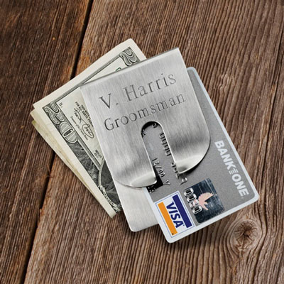 Harrison Clever Money Clip - Personalized LARGE