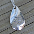 Heaven Has in Store Memorial Necklace