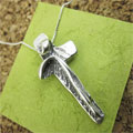 I Am With You Always Sterling Silver Necklace THUMBNAIL