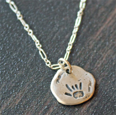 I Love You (Sign Language) Sterling Necklace LARGE