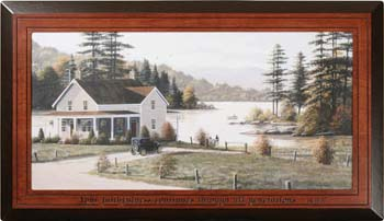 Out On The Lake - Psalm 119  Wall Hanging_LARGE