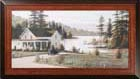 Out On The Lake - Psalm 119  Wall Hanging_THUMBNAIL