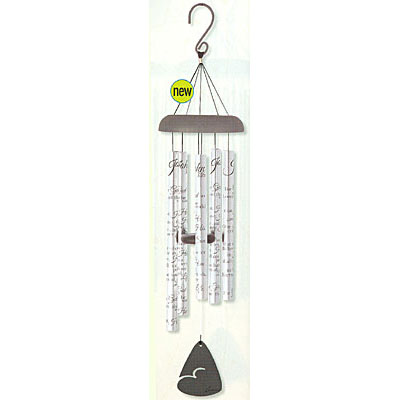 "30"" John 3:16 Wind Chime LARGE"