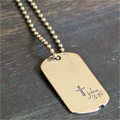 John 3:16 Dog Tag by dvbny Mini-Thumbnail