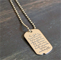 John 3:16 Dog Tag by dvbny THUMBNAIL