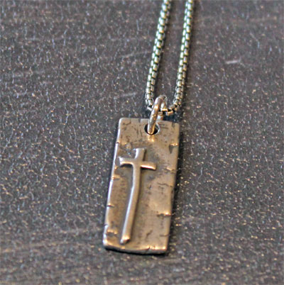 King of Kings Sterling Pendant LARGE