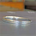 May the Road Rise to Meet You Mobius Bracelet Mini-Thumbnail