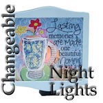 Interchangeable Night Lights with Designs