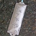 Pewter Room Blessing Plaques by Cynthia Webb - Peace to This House THUMBNAIL