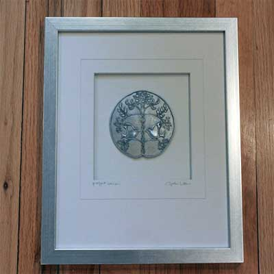 Cynthia Webb Framed Pewter Ornament - Perfect Union