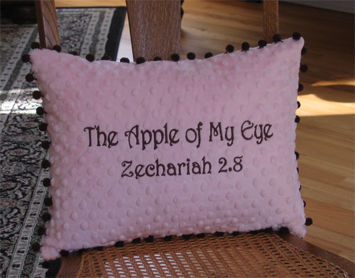 'Apple of My Eye' Pillow for Child