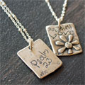 Goodness & Love Sterling Necklace