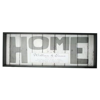 Weathered HOME Sign - Personalized LARGE