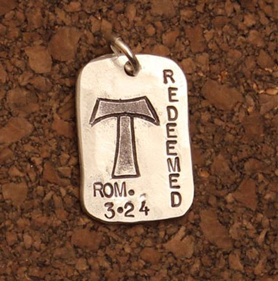 God Tag - Redeemed LARGE
