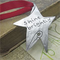 Shine Brightly Pewter Ornament THUMBNAIL