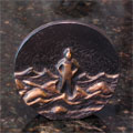 Standing Firm Bronze Plaque THUMBNAIL