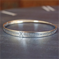 Ten Commandments Mobius Bracelet