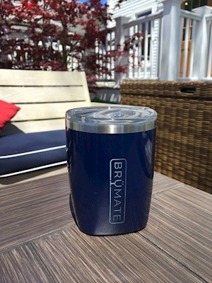 Rocks Tumbler- Brumate Insulated LARGE