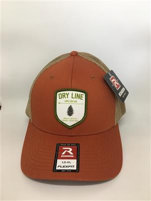 Dry Line Gin Hat - Burnt Orange LARGE