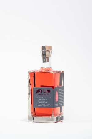 Dry Line Rose Gin (750ml) MAIN