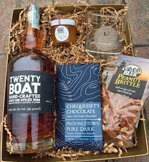 Father's Day Gift Basket- Rum Lover! LARGE