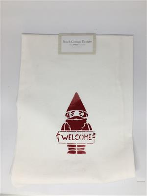 Holiday Gnome Flour Sack Towel LARGE