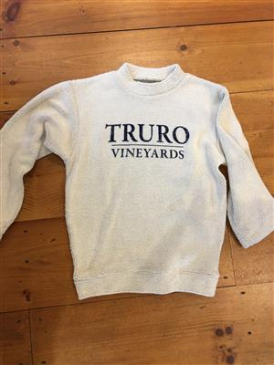 Truro Vineyards Fuzzy Sweater LARGE