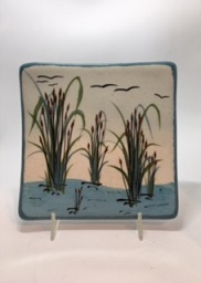 Cattail Design- Jobi Pottery SWATCH