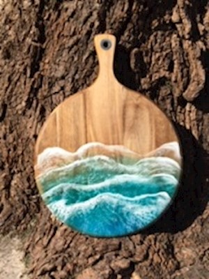 Ocean Wave Round Board LARGE