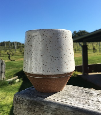Ceramic Wine Cup by Isabel Souza LARGE