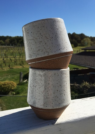 Ceramic Wine Cup by Isabel Souza SWATCH