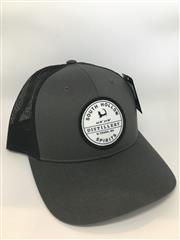 South Hollow Spirits Hat - Black and Grey THUMBNAIL