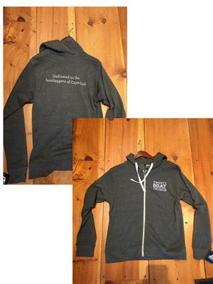 Twenty Boat Zip-up Sweatshirt LARGE
