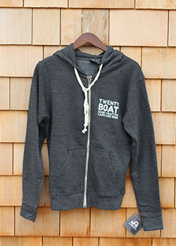 Twenty Boat Zip Up Hoodie THUMBNAIL