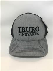 Truro Vineyards Hat - Grey and Black THUMBNAIL