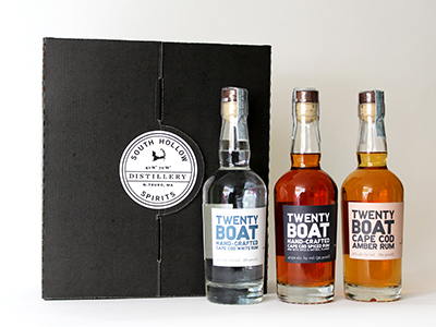 Twenty Boat Rums Gift Pack (375ml sampler) MAIN