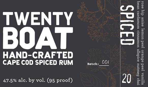 Twenty Boat Spiced Rum (750ml) MAIN