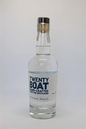 Twenty Boat White Rum (375ml) LARGE