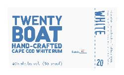 Twenty Boat White Rum (750ml)_MAIN