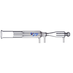 Axial, Fixed Quartz, 3.0mm injector tube, additional gas flow [10-1009]