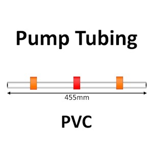 Three Stop, PVC, 0.03 mL/min, Orange-Red-Orange for SKALAR 12/pk [21-4102] LARGE