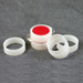 XRF Sample Cups 32mm Double Open Ended w/ 2 Rings, Universal 100/Pack [40-SC-4231]_THUMBNAIL