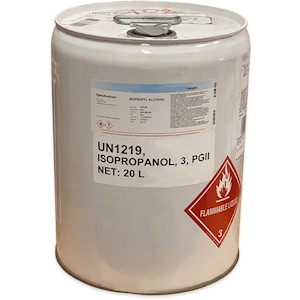 Isopropyl Alcohol (IPA) 99% - 20L Drum [47-817-46104] LARGE