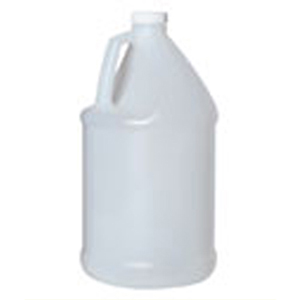 1 Gallon HDPE Round Narrow Mouth Jug with Caps 48/cs [50-12000]