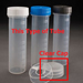 50mL Digestion Vessel, Flat Bottom, Graduated, w. NATURAL Cap, PP-CO,  500/Pkg [50-8002] THUMBNAIL