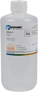 1,000 ppm Ca in HNO3 Acid, 500mL [30-AACA1-5]