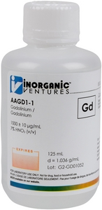 1,000 ppm Gd in HNO3 Acid  [30-AAGD1] MAIN